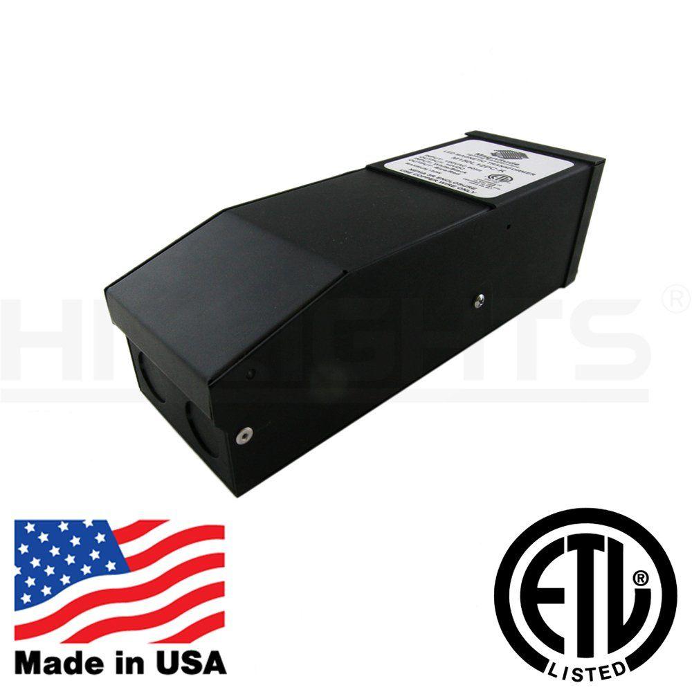LED Light Strip 300W Dimmable Driver (25A), Magnetic, 110V AC-12V DC ...