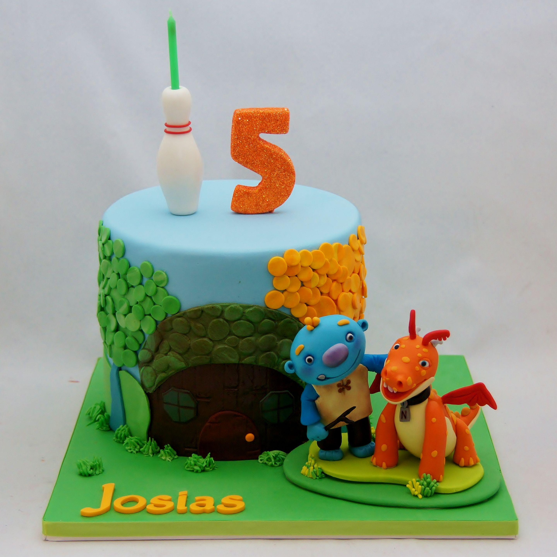 Sensational Wallykazam Birthday Cake Birthday Cake Birthday 3Rd Birthday Cakes Funny Birthday Cards Online Alyptdamsfinfo