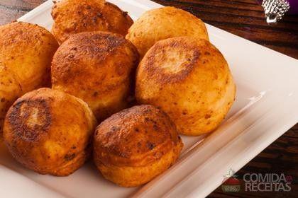 Receitas da Nairzinha: Receita de Sonho de batata com milho