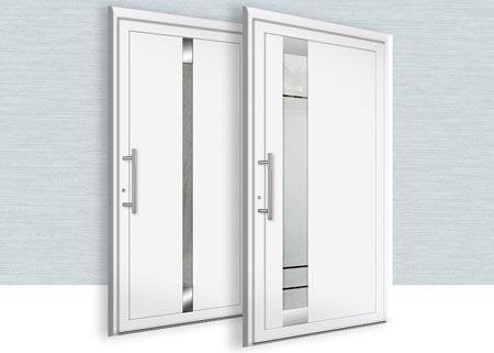 Eingangstüren modern weiß  haustüren aluminium | Aluminium Haustüren | hus | Pinterest ...