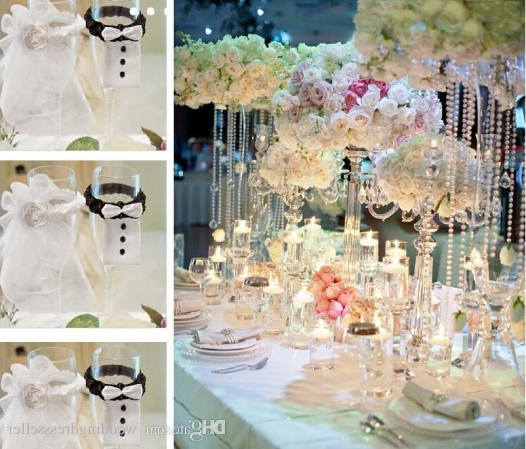 In Stock 2016 New White Bride And Bridegroom Tableware Favors For