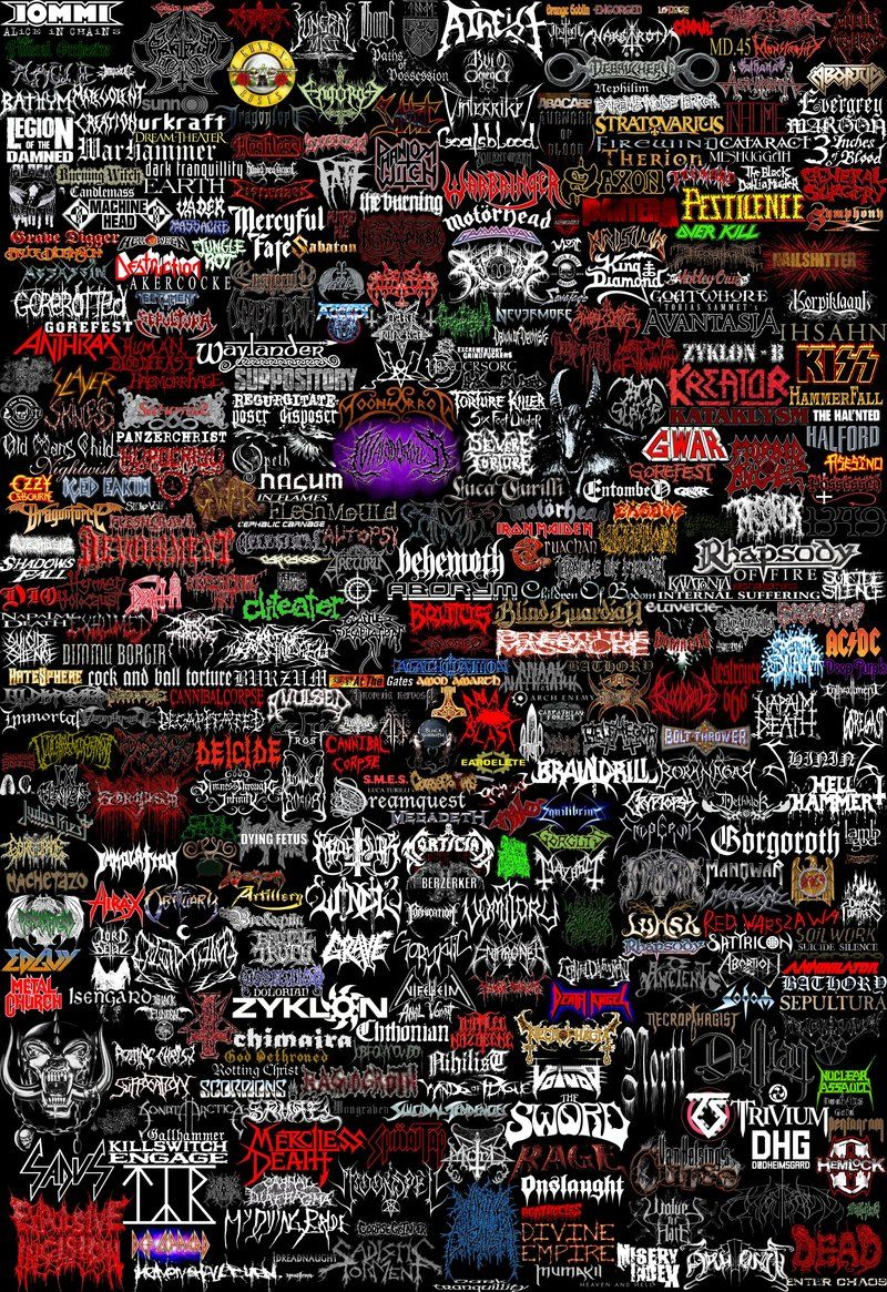 Metal Bands Logos