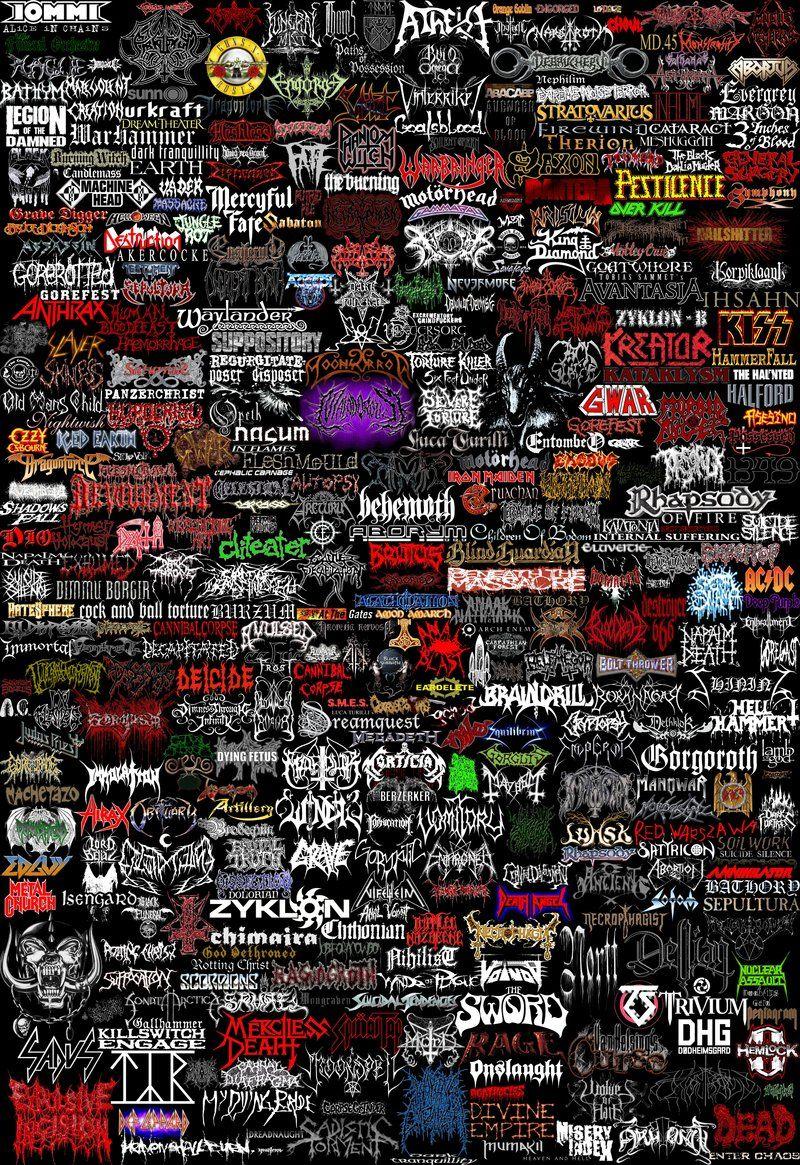 Metal Bands Logo Jpg 800 1 165 Pixeles Metal Band Logos Rock Band Logos Band Wallpapers