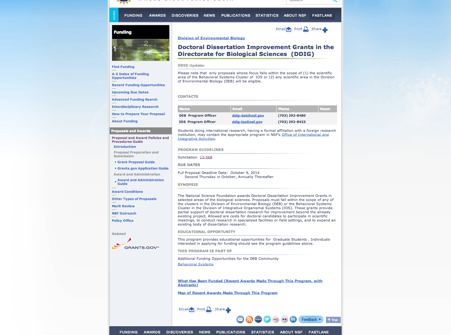 Dissertation improvement grant national science foundation