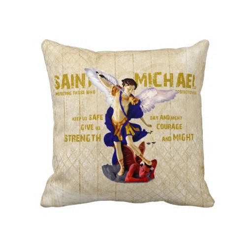 St Michael's Prayer For Protection Decor Pillow Pillows Amazing Michaels Decorative Pillows