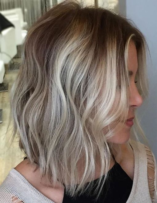 Light Brown Blonde Highlights For Short Hairstyles 2017 Balayage