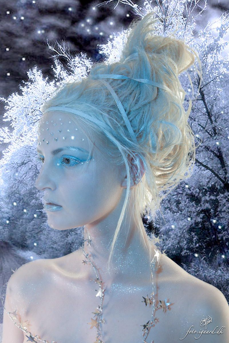 Ice Queen Jan Igaard 500px Projects In 2019 Fairy Makeup Costume