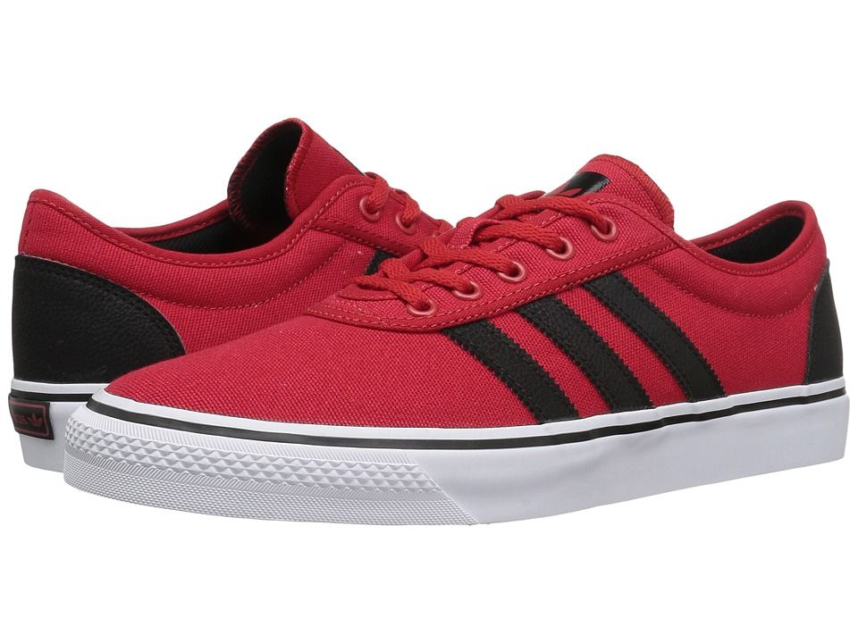adidas skateboard dga - (scarlet / nero / bianco) uomini pattinare