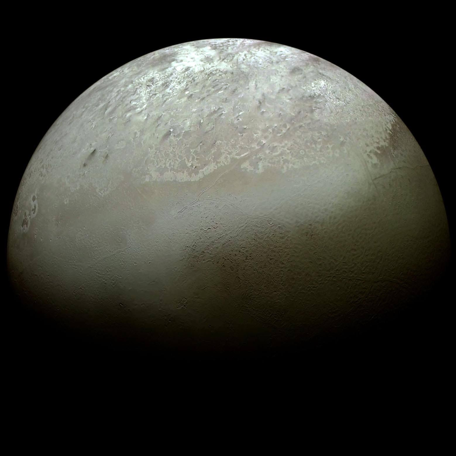 Triton, largest moon of Neptune | Outer space and beyond ...