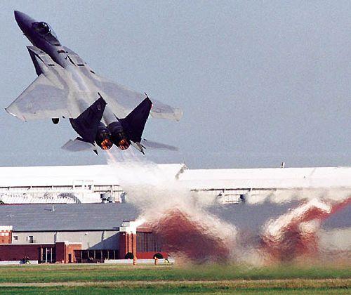 Boeing F-15 Eagle.