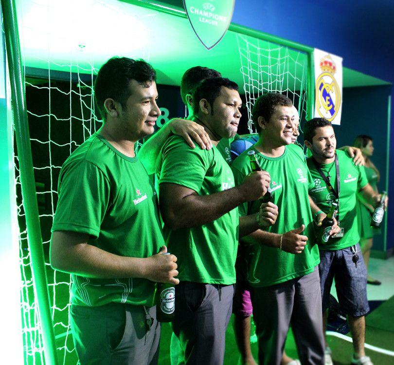 Invent Live Marketing realiza ativação para a Heineken em Manaus