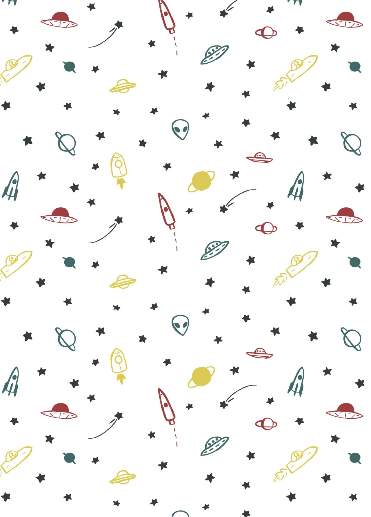 I designed this pattern for the end papers of my collective's zine! You can buy one here if you'd like! ;)