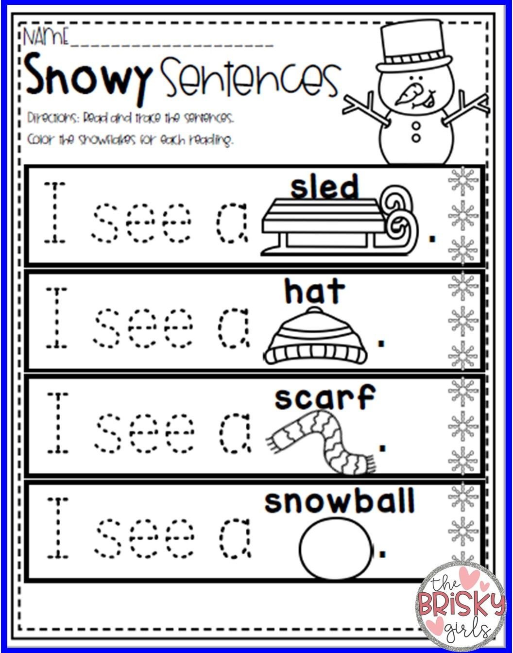 Winter Activity Packet With Images