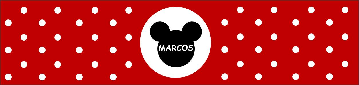 Etiquetas de botellas de Mickey y Minnie Mouse listas para descargar ...