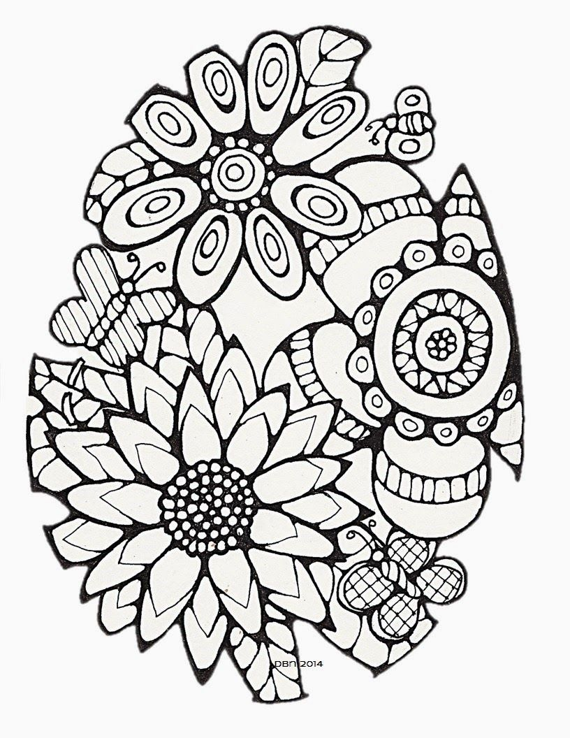 Darlene Nemeth Happiness Is Coloring Pages For Adults Free Easter Coloring Pages Spring Coloring Pages Easter Coloring Pages Printable