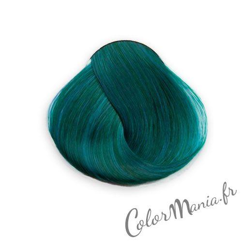 Coloration cheveux vert permanente