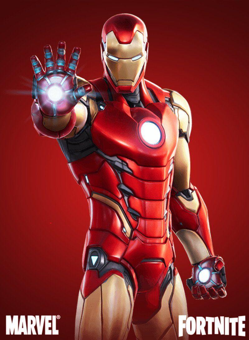 Artstation Iron Man Fortnite Frederic Daoust Iron Man Comic Iron Man Art Iron Man