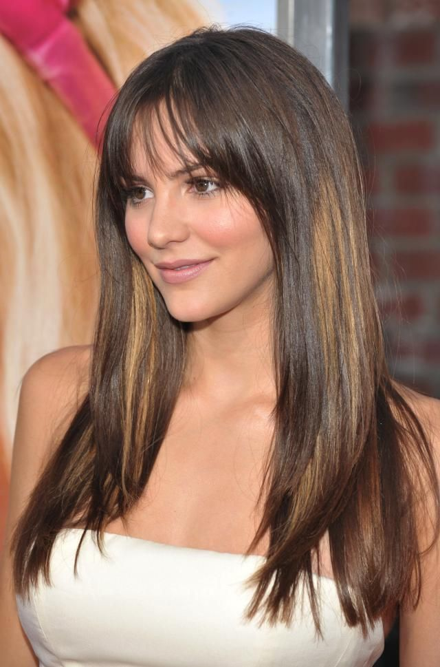 28 Of The Best Hairstyles For Round Faces Medium Length Hair Styles Long Face Haircuts Long Face Hairstyles