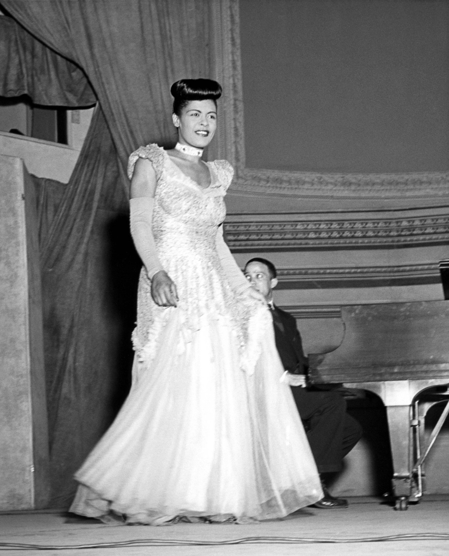 Billie holiday jazz singer actress lady day gardenias