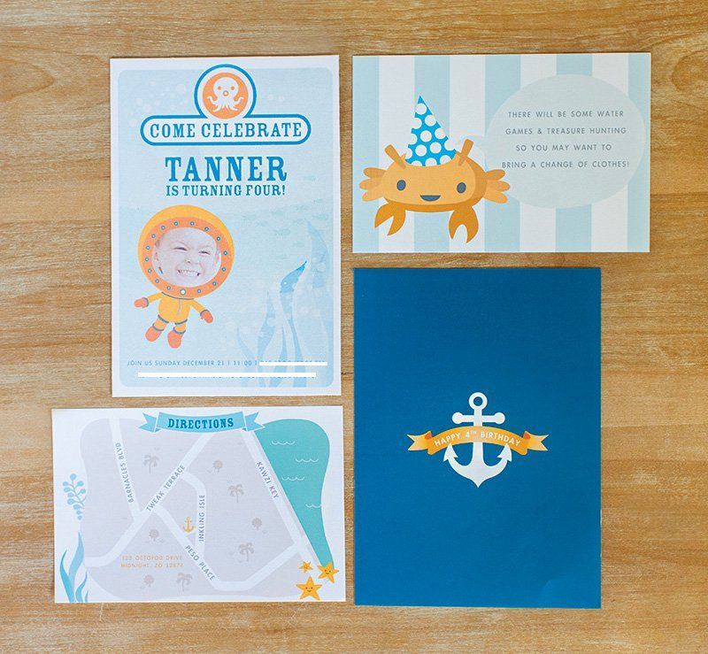 Creative Octonauts Sea Creatures Birthday Party Themed