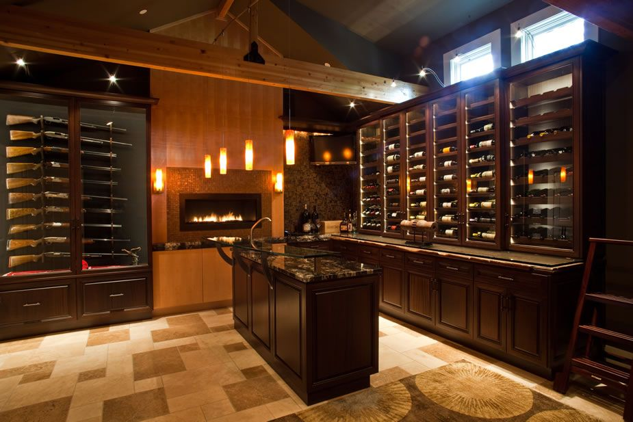 The Man Cave Storage : Man cave gun room wine cellar manly ideas