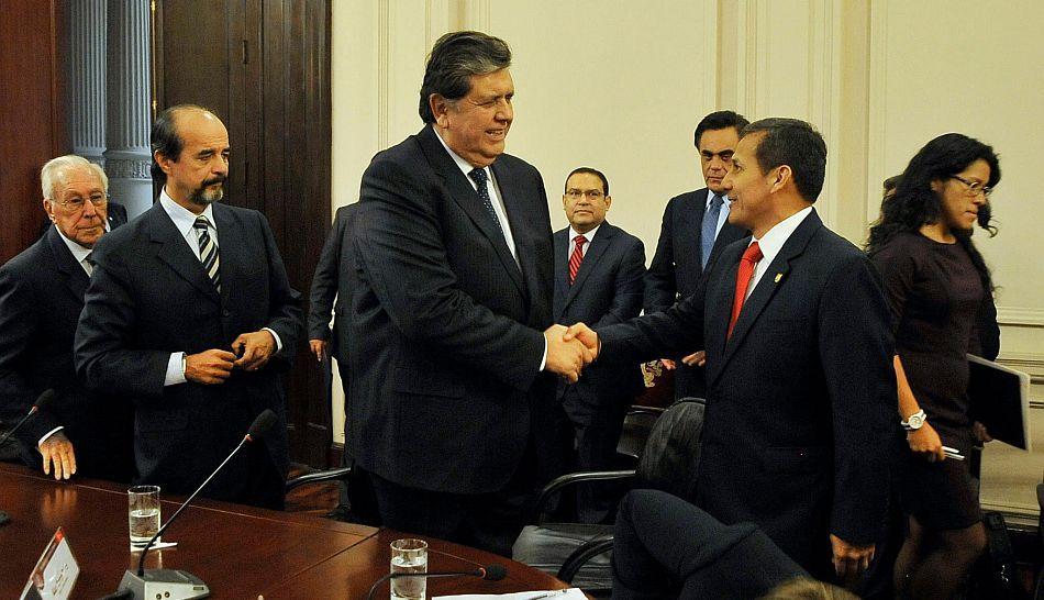 Ollanta Humala y líderes políticos reunidos ante próximo fallo de Corte de La Haya... #Perú