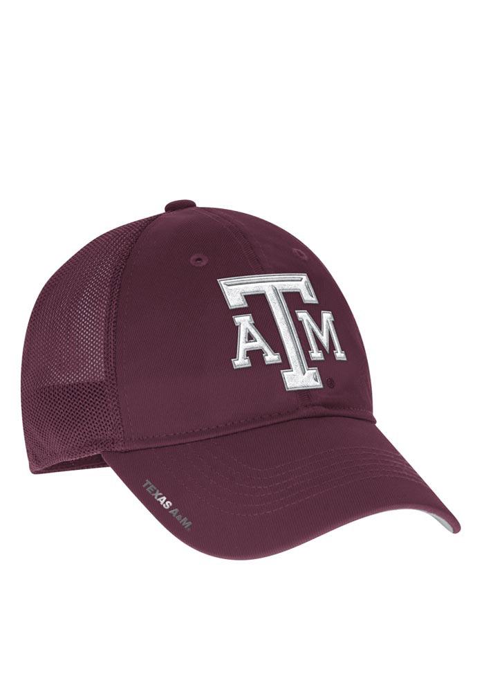 buy online 7561c d963a Adidas Texas A M Aggies Mens Maroon 2016 Coach Mesh Back Flex Hat - Image 1