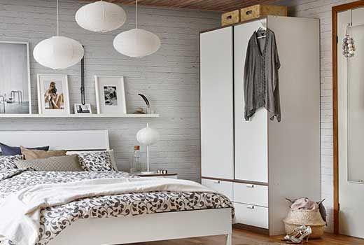 IKEA Kleiderschränke wie z.B. TRYSIL Schrank mit Schiebetüren und 4 ...