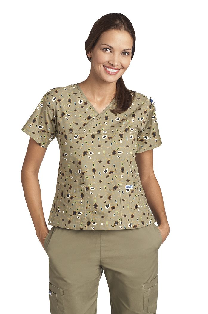 42b25f83dac Criss Cross Scrub Top - 323T | Scrubs Top - Womens & Mens | Tops ...