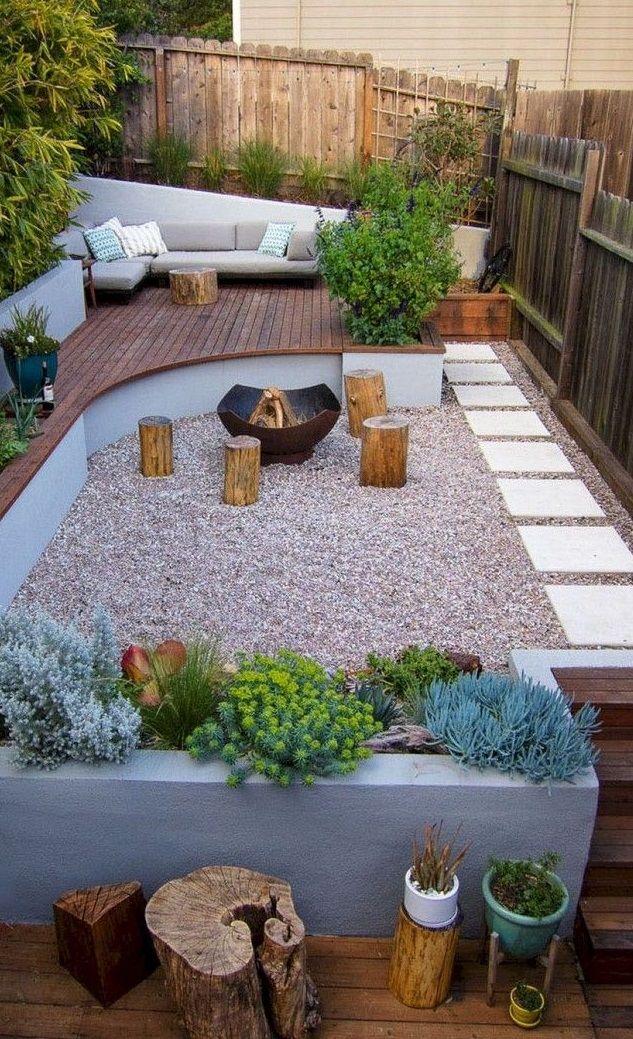 Beautiful And Cozy Backyard Design Ideas in 2020 | Small ...