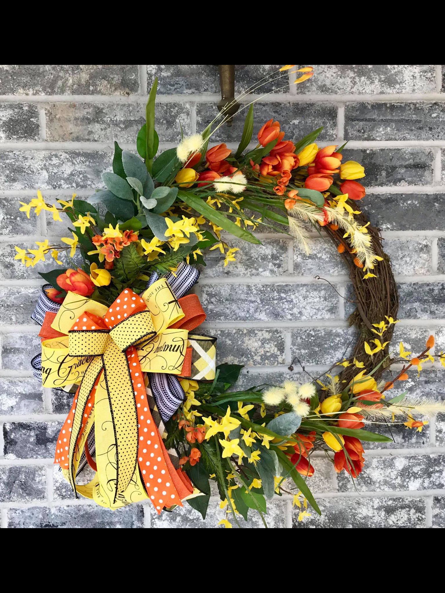 How To Make A Bow For A Wreath Tutorials Front Doors