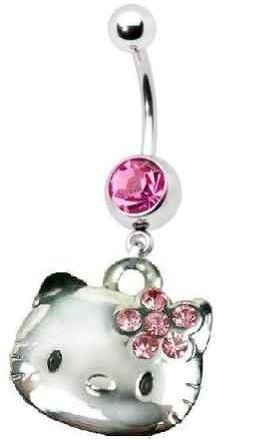 Hello Kitty Belly Button Rings Too Bad I Don T Have My Belly