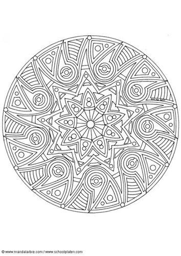 Coloring page mandala-1702x