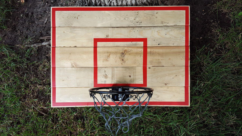 Traditional Basketball Hoop Wood Basketball Hoop With Painted Etsy Basketball Backboard Basketball Hoop Beautiful Wood