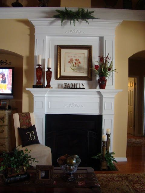 Adventures in Decorating Fireplace Transformation House and