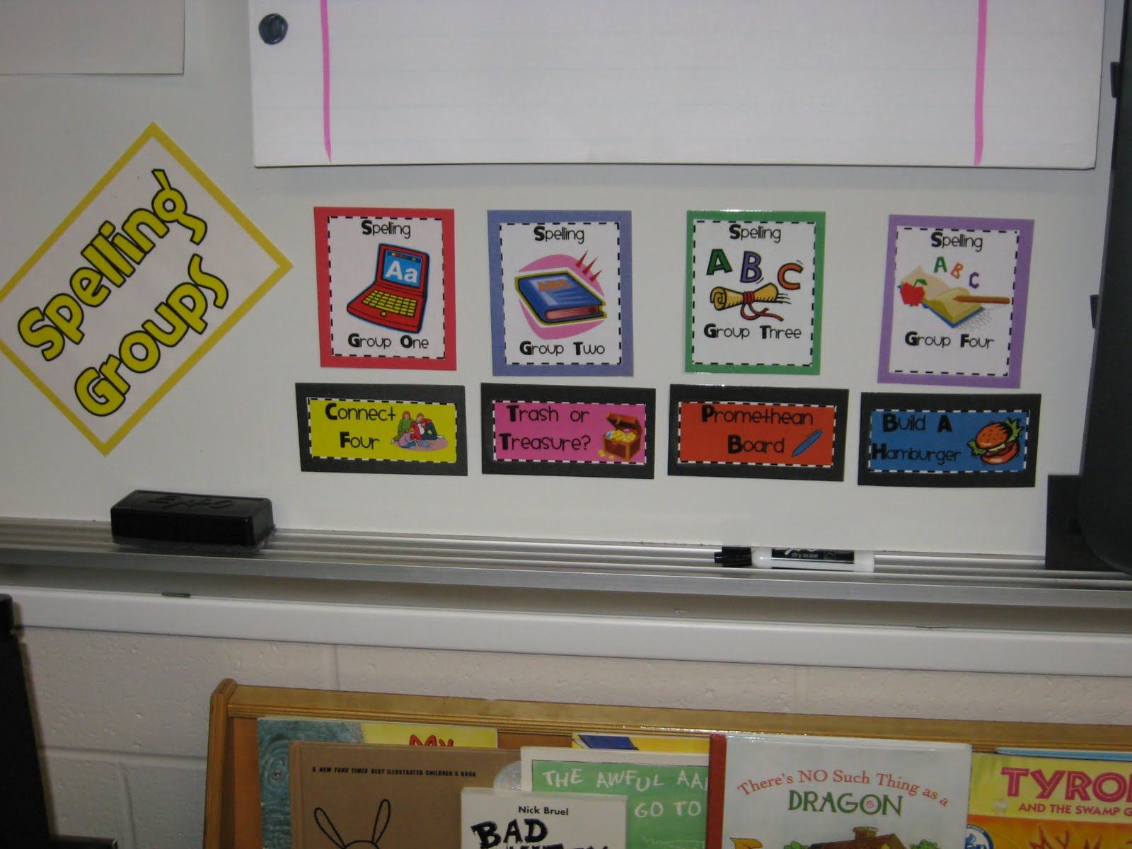 Spelling Rotations (first time seeing this) mandys-tips-4-teachers.blogspot.com