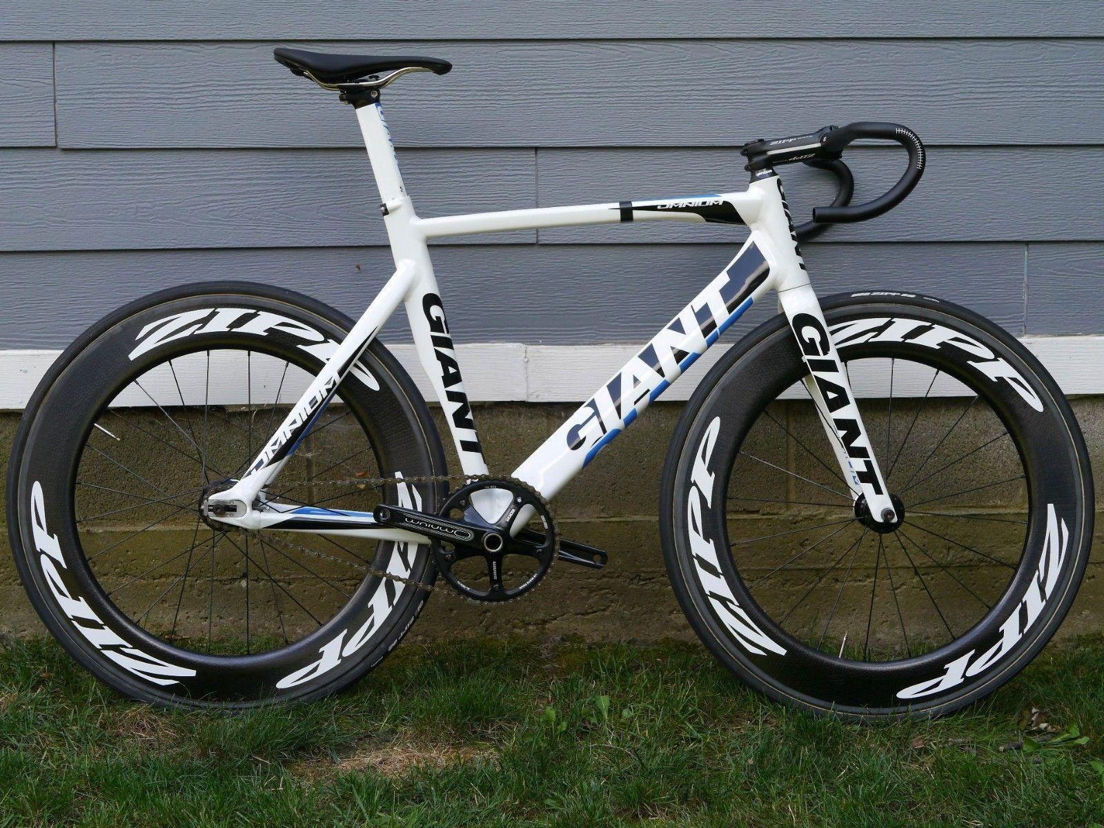 2014 Giant Omnium M L Aero Aluminum Fixed Gear Track Bike Zipp 808 Wheels Https T Co Amtx1teehu Https T Co Amtx1teehu Track Bike Bike Fixie Bike