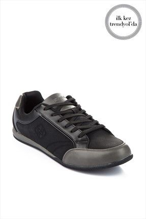 a2bbe8084bf2a Exnex · Sport - Siyah Gri Erkek Ayakkabı M-21202392A 100 %33 indirimle  59,99TL ile Trendyol da