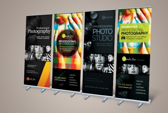 20 Creative Vertical Banner Design Ideas | Conference Signage ...