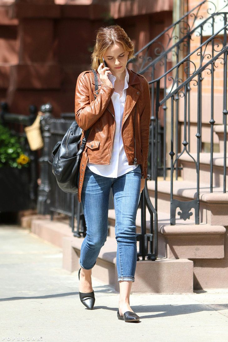 Fashion, Shopping & Style | Emma Watson Wears Every Girl's 5 Spring Staples All at Once