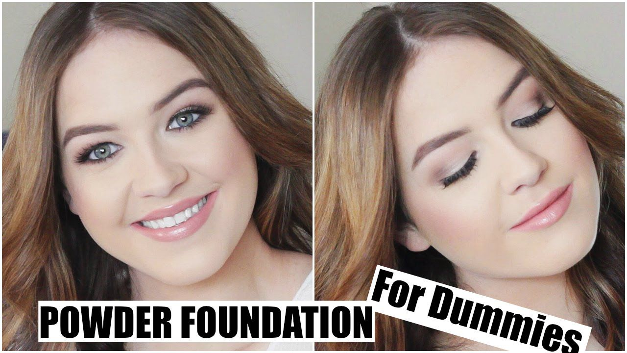 Powder Foundation for Dummies How to get flawless and