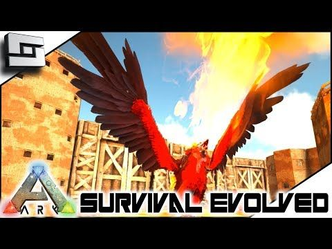 awesome ARK: Survival Evolved - Taming a FIRE GRYPHON! E11 ( Modded