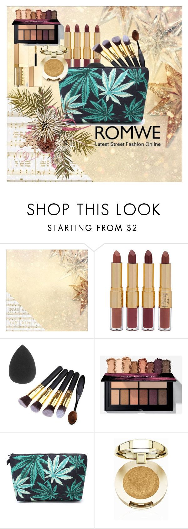 """Untitled #167"" by elma-poz ❤ liked on Polyvore featuring Kaisercraft, tarte, Milani and Stila"