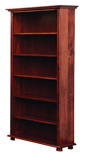 Amish Heirlooms Solid Maple Lincoln Series Bookcase 36 Furniture