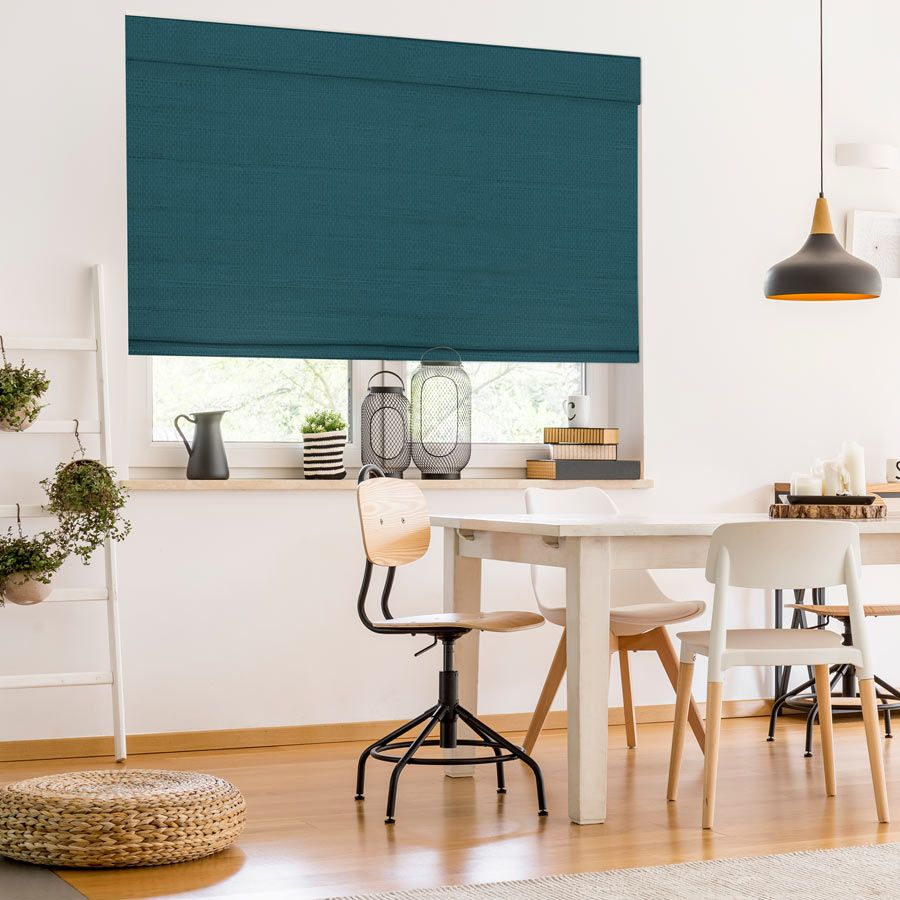 Classic roman shades in 2020 bamboo shades woven wood