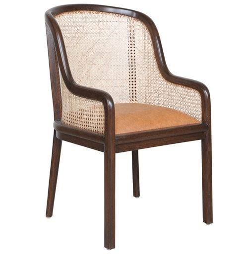 Groovy Nysa Arm Chair In Tan Colour By Russet In 2019 Dining And Caraccident5 Cool Chair Designs And Ideas Caraccident5Info