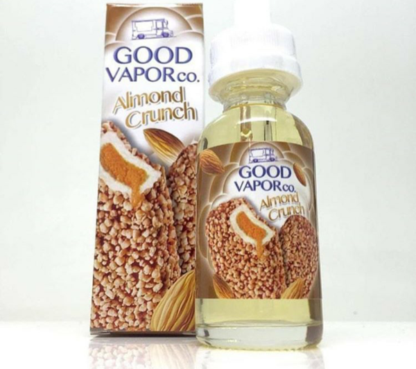 Good Vapor Almond Crunch Almond crunch, Vape juice