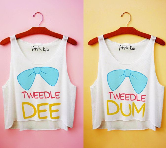 tweedle dee and tweedle dum crafts DIY tanks