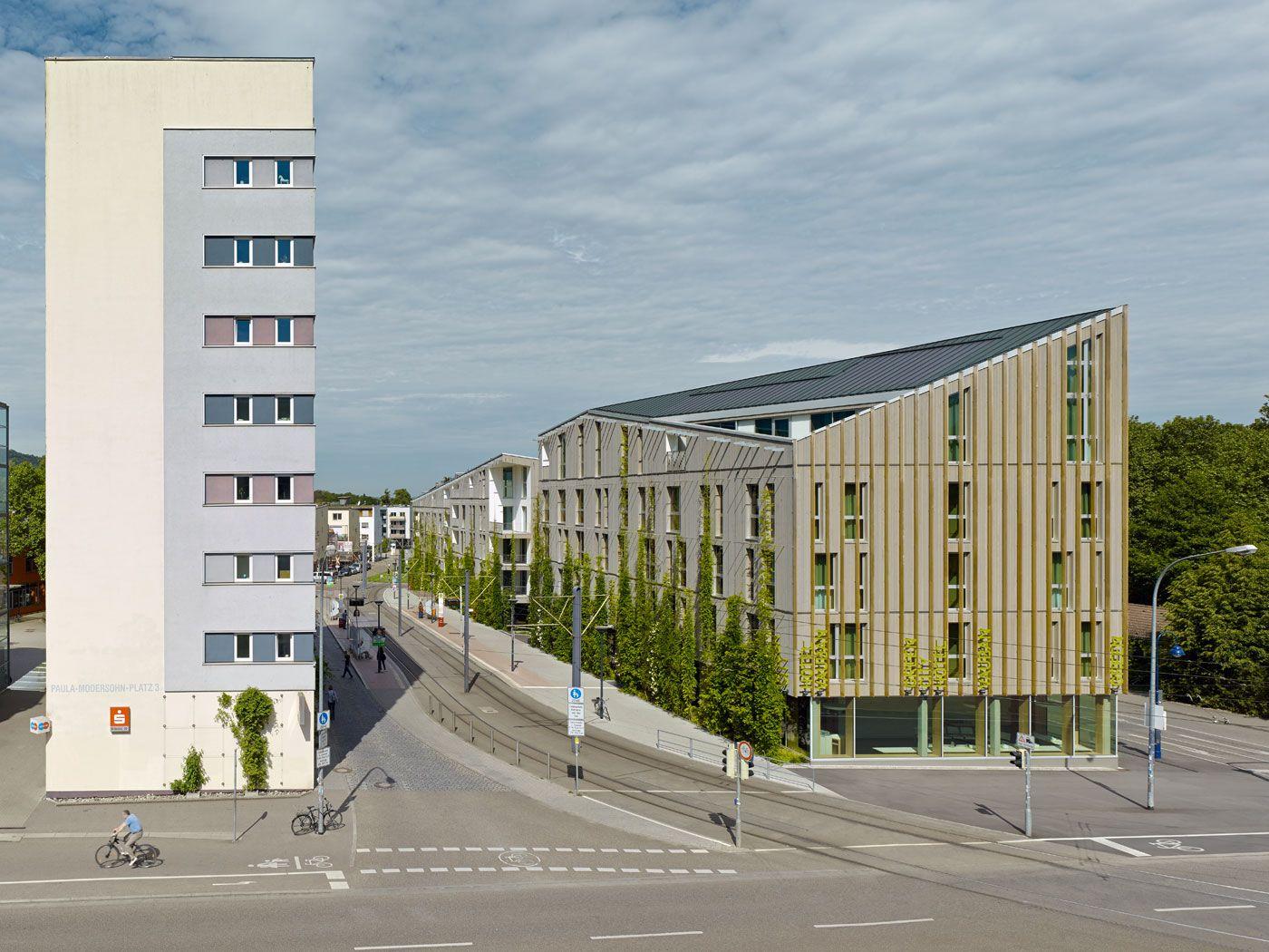 Stadthaus m1 green city hotel freiburg vauban for Freiburg design hotel