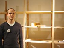 """L´Étagère en Bois, by Lucien Gumy, first-place winner    With a background in carpentry, designer Lucien Gumy says, """"I always try to find not only simplicity in design, but also a new way of thinking."""" Gumy designed this interlocking solid wood shelving unit so that it can be assembled without nails, bolts or screws. The prototype was created for the designer's diploma project at Switzerland's University of Art and Design, Lausanne."""